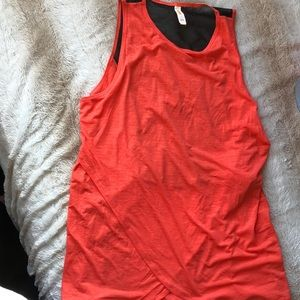 Brand new Lucy mesh back tank